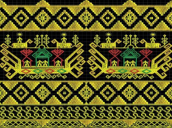 Pola Ragam Hias Nusantara