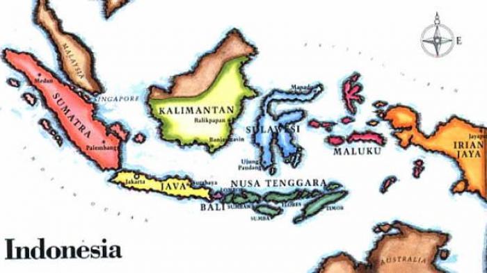 Peta Pulau Indonesia