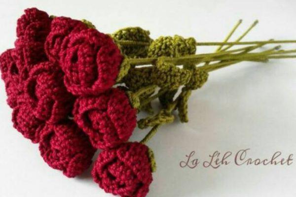 Bunga Mawar dari Woll