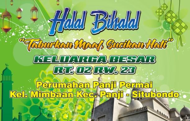 Contoh MC Acara Halal Bihalal RT