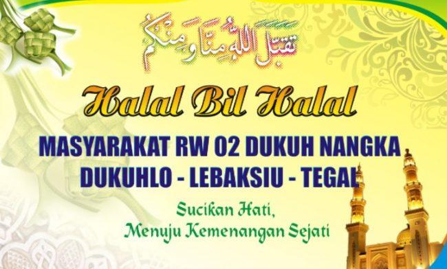 Contoh Teks MC Acara Halal Bihalal