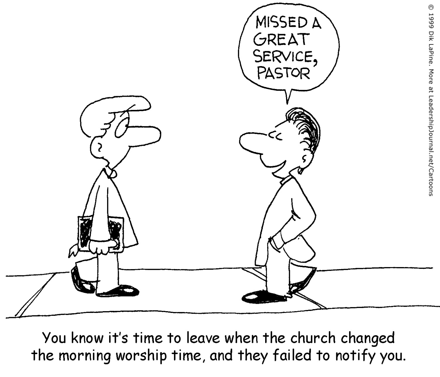 Changes In Churches And The Need To Adjust