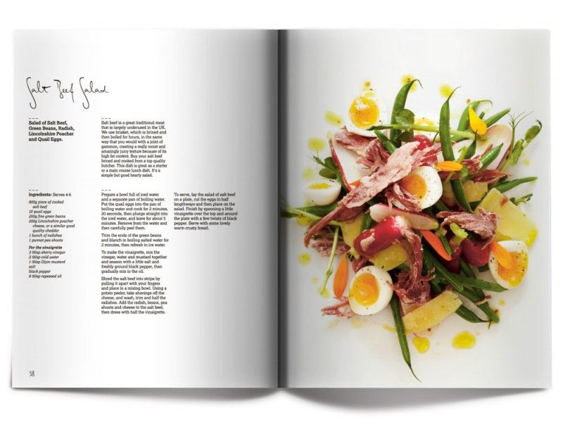 Salt Beef Salad - James Mackenzie