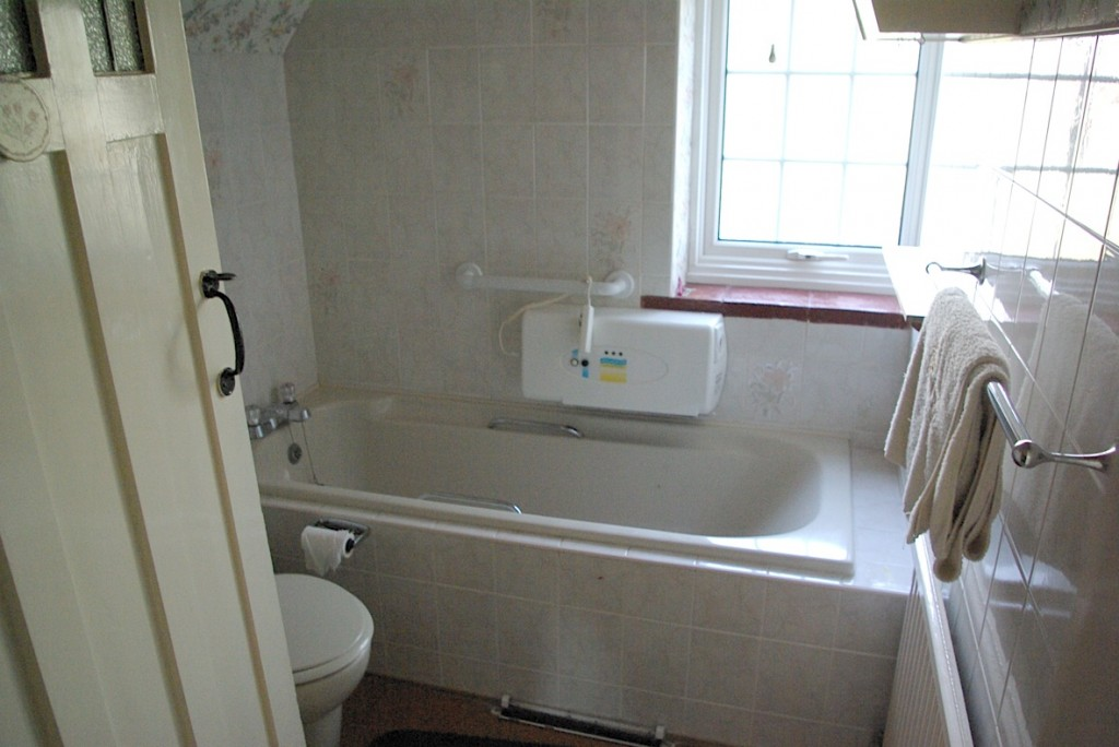Our old bathroom.