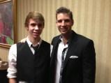 Braden Pole with Joshua Jay