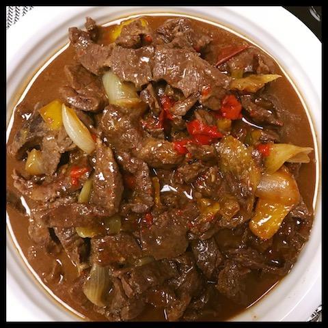 pepper steak, instant pot, comfort food