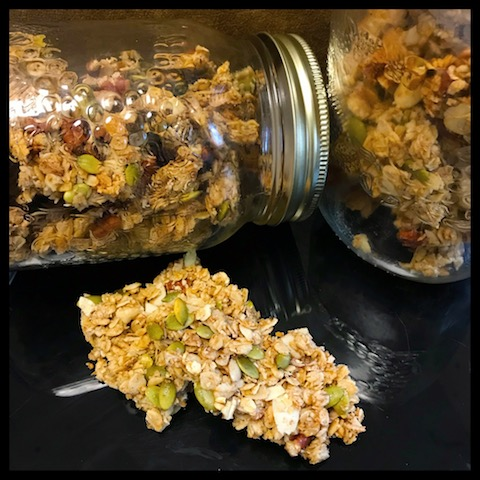 granola, healthy, homemade