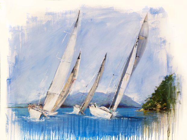 Seascape, Nicole Ballingal, Artist