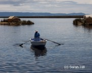 Peru - Tranquil Day On Uros Islands - Sarah L. Hill