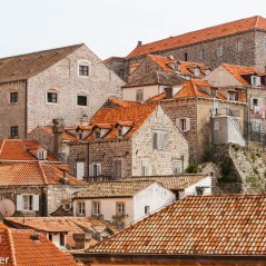 View from the wall of Dubrovnik