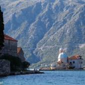 Our lady of the Rock, Montenegro