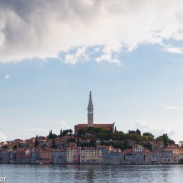 Rovinj, Croatia from the sea