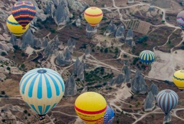 Soft Adventure Travel Hot Air Ballooning in Turkey