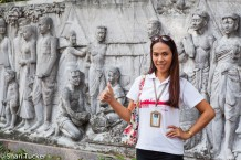 Urban Adventures Guide near Phra Sumeru Fortress, Bangkok