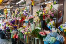 A Flower Market in Bangkok