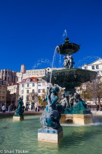 Lisbon fountains