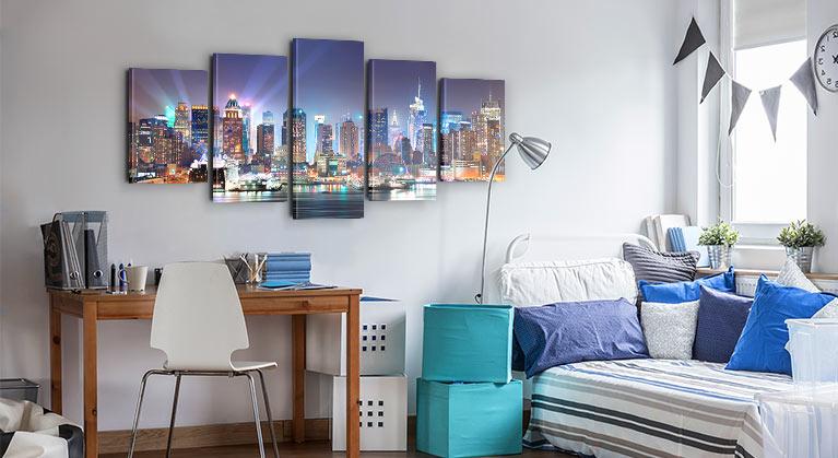 decorations murales pour chambre ado