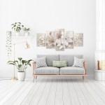 Wandbilder Blumen Moderne Wanddeko