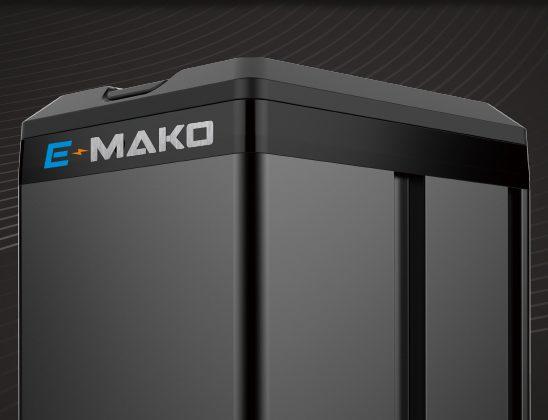 Batteria E-Mako scooter elettrico panasonic