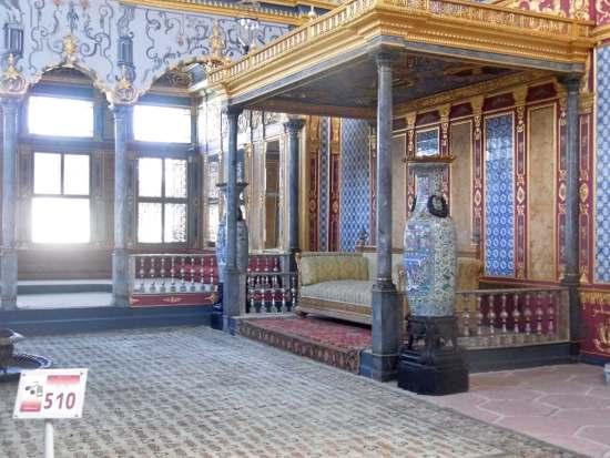 Topkapi Palast, Istanbul: Grosser Salon im Harem