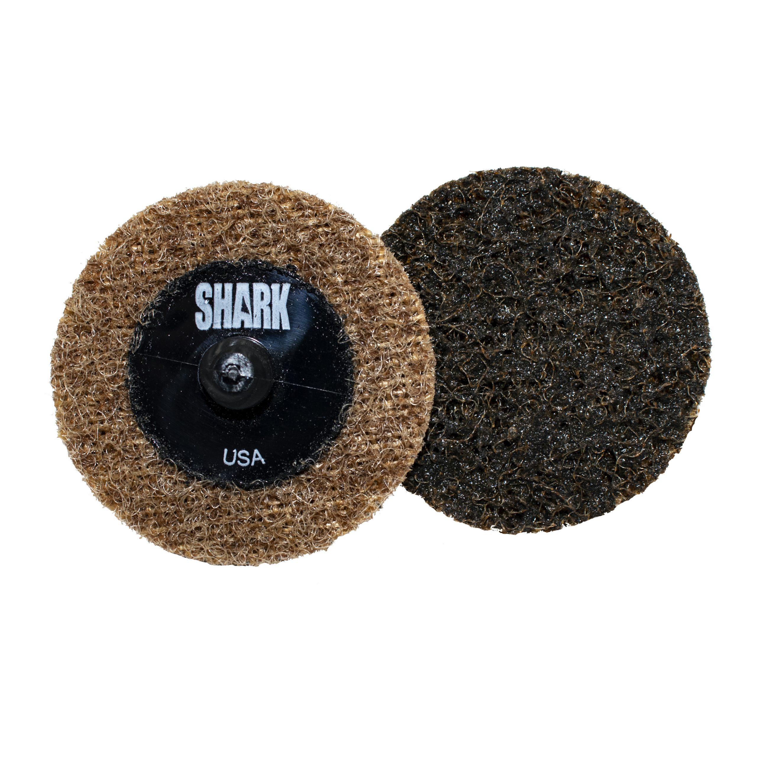 50 Pack Americas Best Surface Prep Cookies in Clear Storage Cookie Jar Shark 2-Inch Surface Prep Conditioning Discs Burgundy Medium
