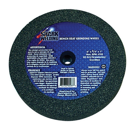 Bench Seat Grinding Wheel-6″x 3/4″ 80 Grit