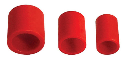 Telescoping Reducer Bushings for Bench Seat Wheels- 1/2″ tall.