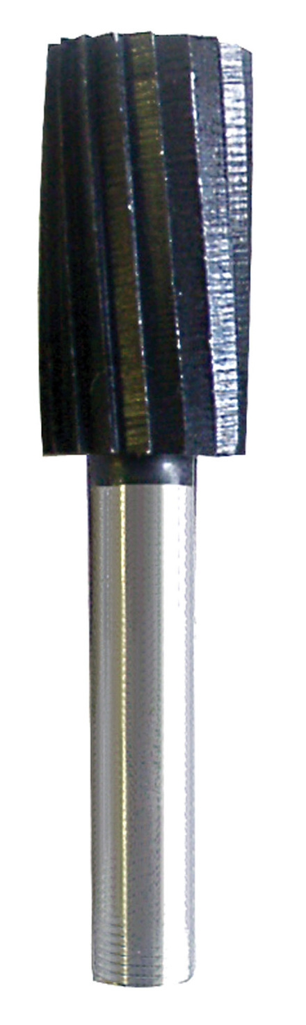 Rotary File made of High Quality Steel – Cylindrical – 1/4″ x 1″ x 1/4″ mandrel.