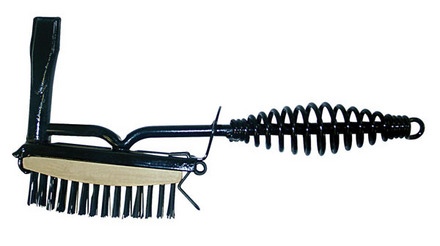 Chipping Hammer with Wire Brush
