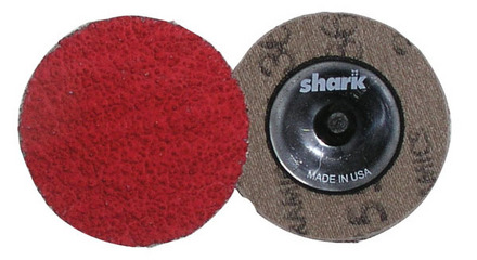 Mini Grinding Discs with Twist-to-Lock Backing – Ceramic 2″ 50 Grit. 25 pack.