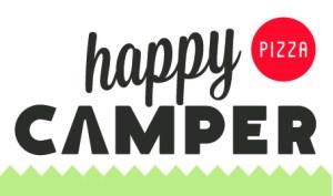 Happy Camper Pizza Logo w:icons