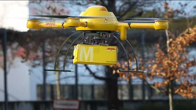 DHL - Drone fro Delivery (3)