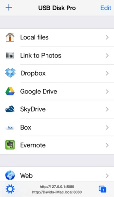USB Disk Pro - The File Manager