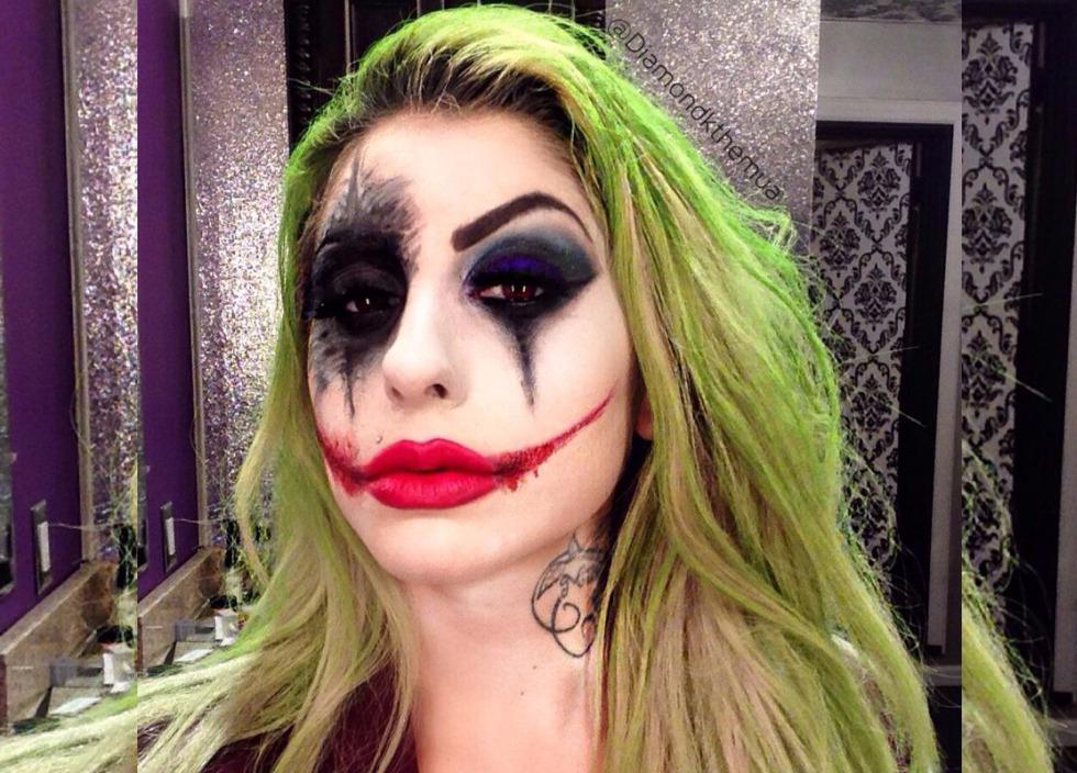 Maquillaje Joker en Halloween