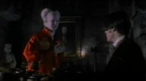 Dracula et Jonathan repas scène coupée