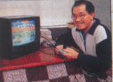 Toriyama jouant à Butode 1