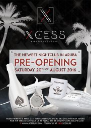 Pre opening flyer