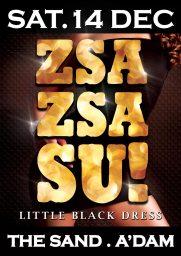 Zsa Zsa Su! Little Black Dress Poster
