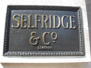 Selfridges_nameboard