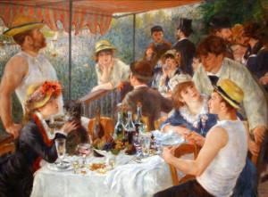 Le Dejeuner des Canotiers, Pierre-Auguste Renoir
