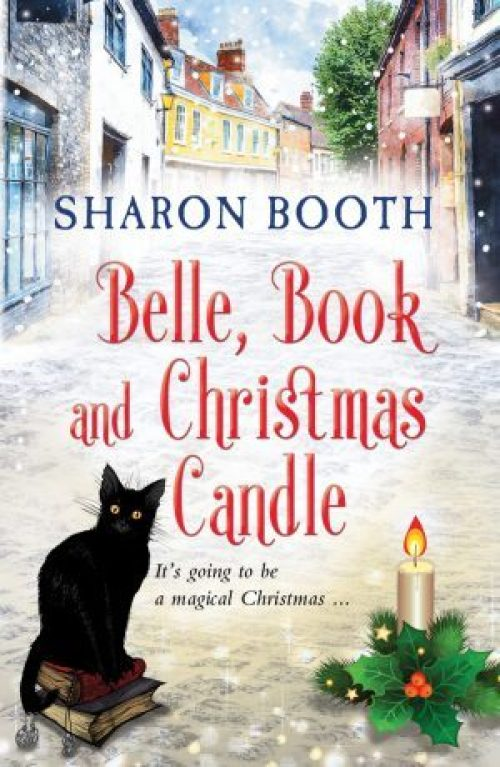 Belle, Book & Christmas Candle