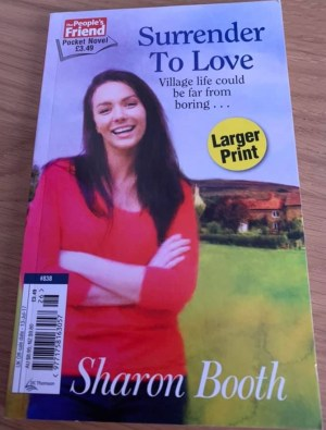 The pocket novel, Surrender to Love, which became Bramblewick Book 1