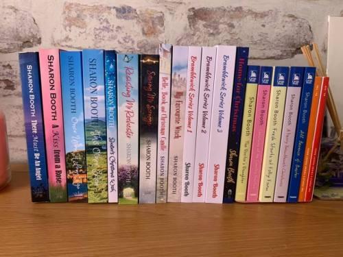 A-Z Blogging Challenge my books