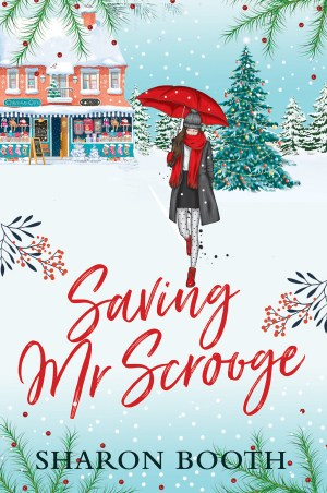 One of my Christmas books, Saving Mr Scrooge