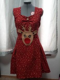 Reindeer on chest and waist
