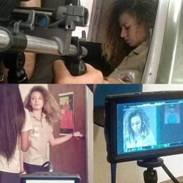 Sharon Martínez- detrás de cámara de la película Más Sexo Que Amor