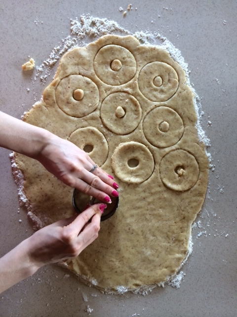 Must be well floured below dough or it will stick