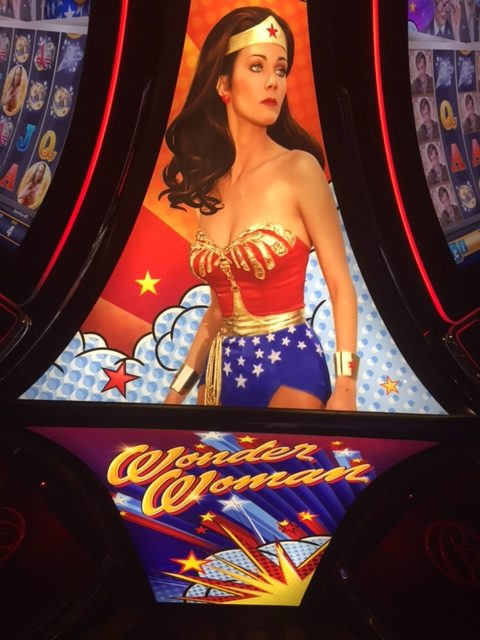 A Wonder Woman Slot Machine