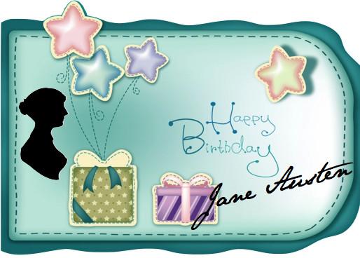 Jane Austen's Birthday ~ Let's Party!
