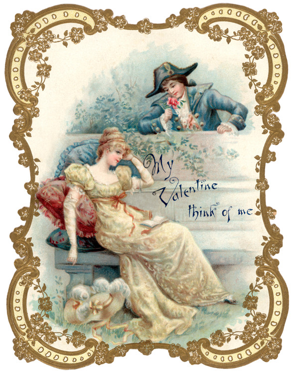 Vintage-man-and-lady-valentine